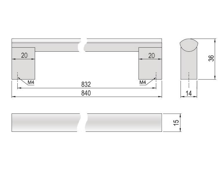 N bytkov chytky chytky reling 63739 porta chytka for Uchytka porta